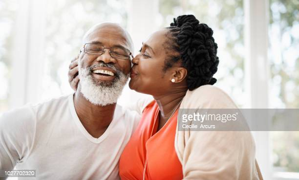 kisses for my love - black people kissing stock pictures, royalty-free photos & images