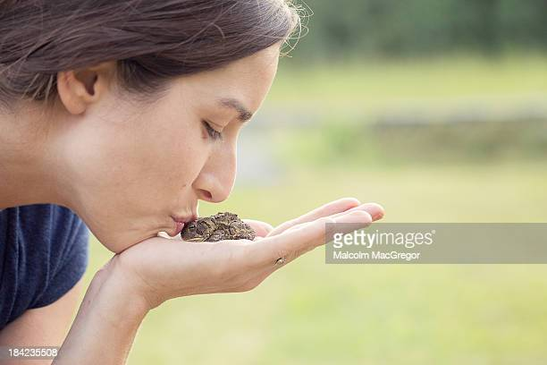 Kissing a Toad