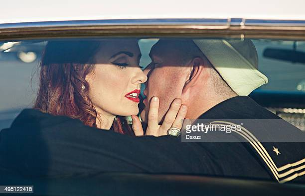 Kissing in the Back Seat