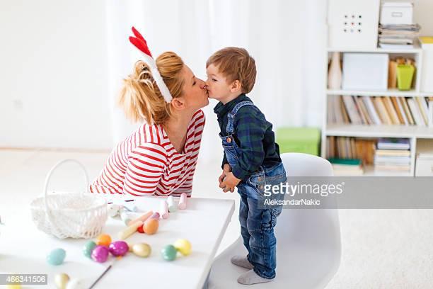 Meine Mutter Küssen