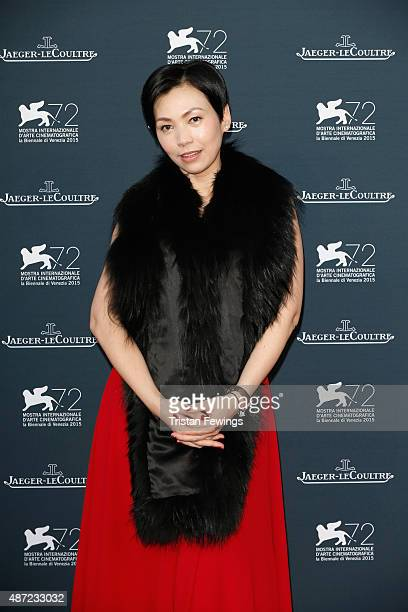 Kit Chan attends the JaegerLeCoultre gala event celebrating 10 years of partnership with La Mostra Internazionale d'Arte Cinematografica di Venezia...