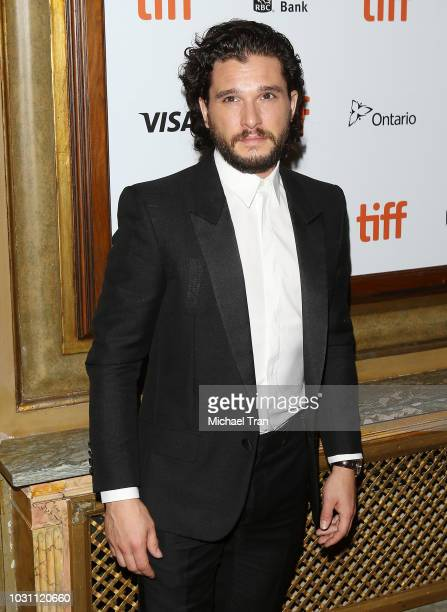 Kit Harington arrives to the premiere of The Death and Life of John F Donovan held during 2018 Toronto International Film Festival on September 10...