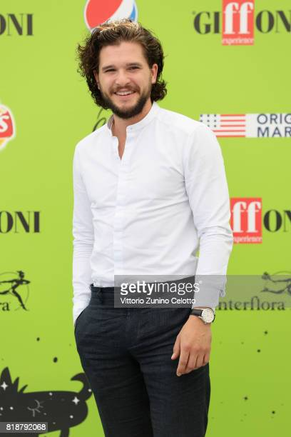 Kit Harington attends Giffoni Film Festival 2017 photocall on July 19 2017 in Giffoni Valle Piana Italy
