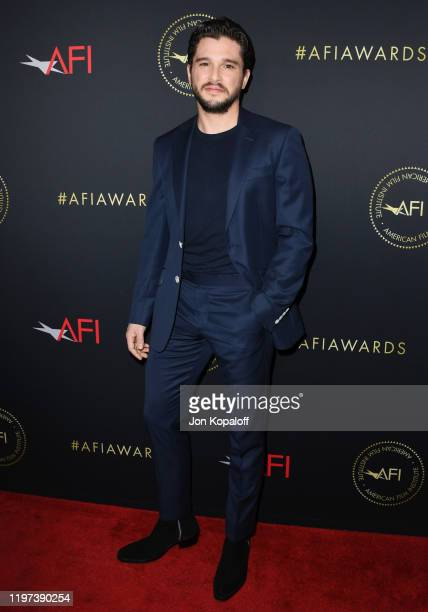 Kit Harington attends the 20th Annual AFI Awards at Four Seasons Hotel Los Angeles at Beverly Hills on January 03 2020 in Los Angeles California