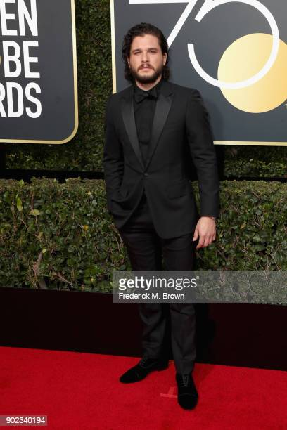 Kit Harington attends The 75th Annual Golden Globe Awards at The Beverly Hilton Hotel on January 7 2018 in Beverly Hills California