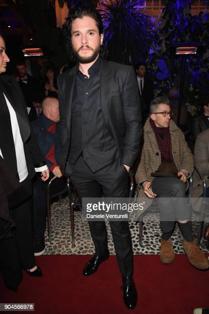 Kit Harington attends the Dolce Gabbana Unexpected Show during Milan Men's Fashion Week Fall/Winter 2018/19 on January 13 2018 in Milan Italy