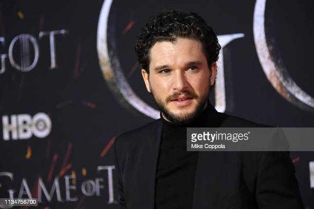 Kit Harington attends the Game Of Thrones season 8 premiere on April 3 2019 in New York City