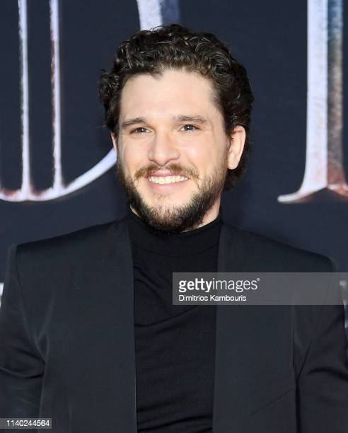 Kit Harington attends the Game Of Thrones Season 8 Premiere on April 03 2019 in New York City
