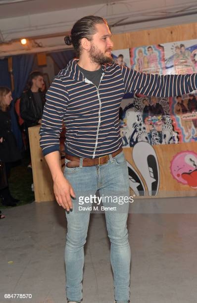 Kit Harington attends the Hunter Festival Kick Off Party on May 18 2017 in London England
