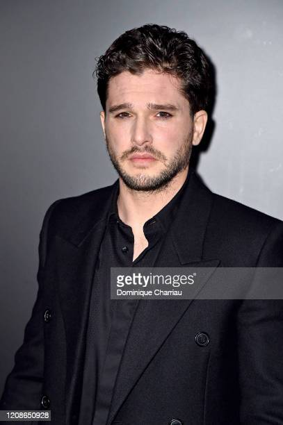 Kit Harington attends the Saint Laurent show as part of the Paris Fashion Week Womenswear Fall/Winter 2020/2021 on February 25, 2020 in Paris, France.
