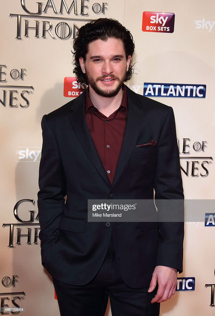 Kit Harington attends the world premiere of Game of Thrones Season 5 at the Tower of London on March 18, 2015 in London, England.