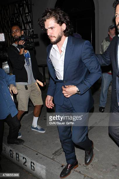 Kit Harington is seen at Craigs on June 10 2015 in Los Angeles California