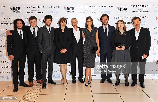 Kit Harington Taron Egerton Colin Morgan Emily Watson director James Kent writer Juliette Towhidi Dominic West producer Rosie Alison and producer...