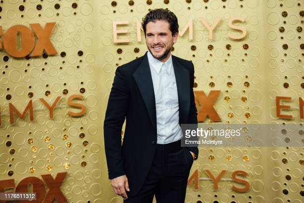 Kit Harrington arrives at the 71st Emmy Awards at Microsoft Theater on September 22 2019 in Los Angeles California