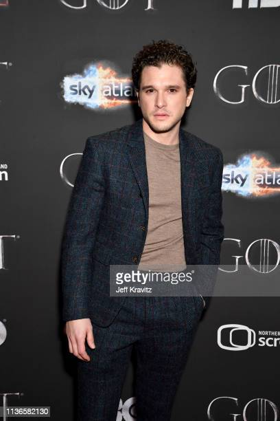 Kit Harrington arrives at the Game of Thrones Season Finale Premiere at the Waterfront Hall on April 12 2019 in Belfast UK