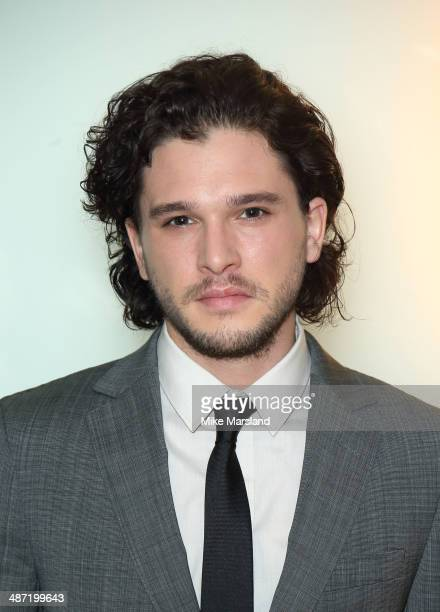 Kit Harrington attends a VIP screening of 'Pompeii' at Vue West End on April 28 2014 in London England