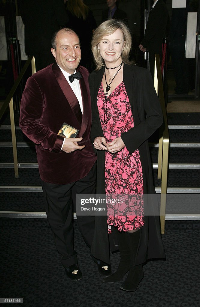 Kit Hesketh and Katie Rabbit arrive at the UK Premiere of 'The White Countess' at the Curzon Mayfair on March 19, 2006 in London, England.