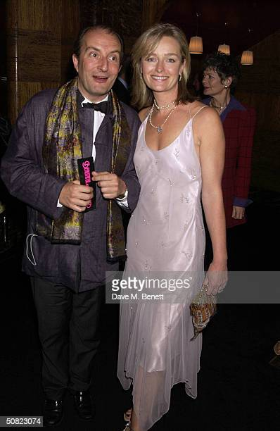 """Kit Hesketh-Harvey and the Spider attend the afterparty following the press night for """"Beautiful And Damned,"""" a new musical based on the lives of..."""