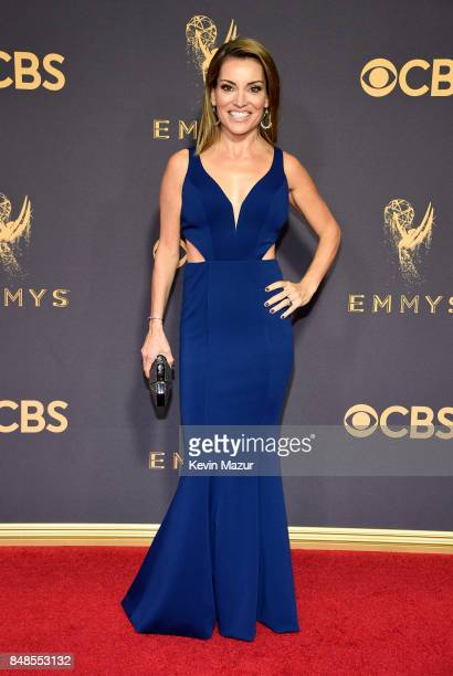 Kit Hoover attends the 69th Annual Primetime Emmy Awards at Microsoft Theater on September 17 2017 in Los Angeles California