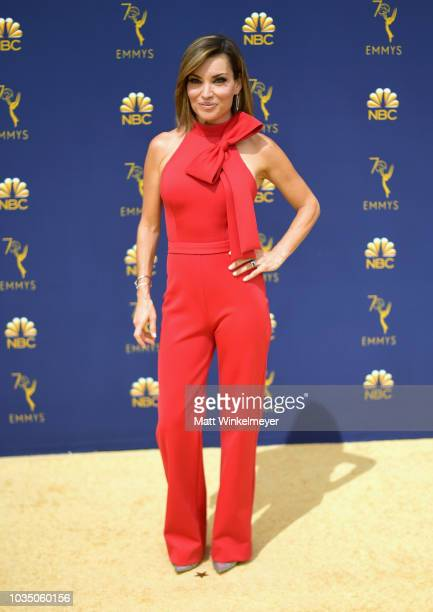 Kit Hoover attends the 70th Emmy Awards at Microsoft Theater on September 17 2018 in Los Angeles California