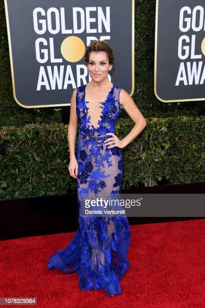 Kit Hoover attends the 76th Annual Golden Globe Awards at The Beverly Hilton Hotel on January 6 2019 in Beverly Hills California