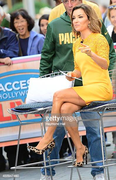 Kit Hoover is seen on the set of Access Hollywood Live on September 22 2014 in New York City