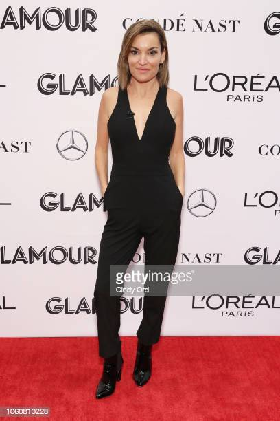 Kit Hoover poses backstage at the 2018 Glamour Women Of The Year Awards Women Rise on November 12 2018 in New York City