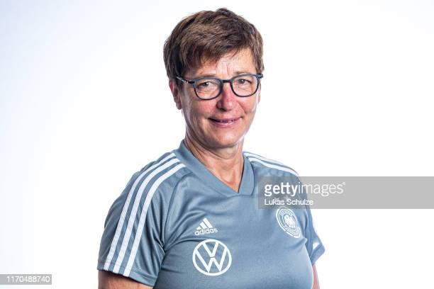 Kit manager Sabine Seidel poses on August 27 2019 in Tilburg Netherlands