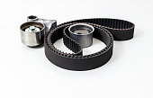 Kit of timing belt with rollers. Auto Parts.