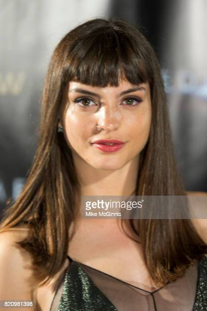 Kit Reeve attends the International SciFi Series 'Medinah' premiere and red carpet reception at ComicCon International 2017at The Manchester Grand...