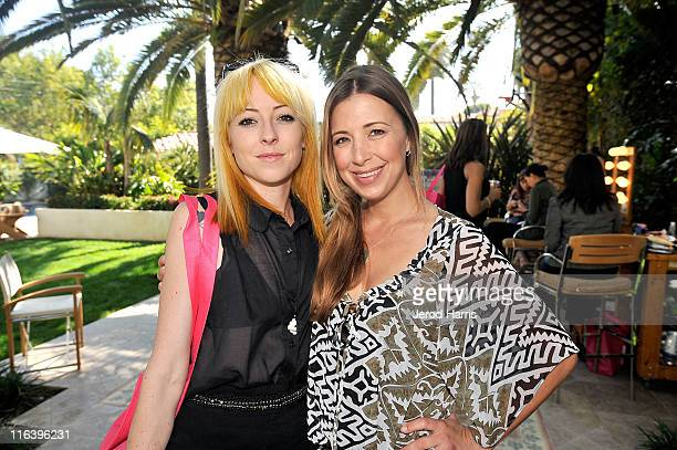 Kit Scarbo and Roxy Manning attend Alison Brod Public Relations Los Angeles Summer Style Event on June 15 2011 in Beverly Hills California
