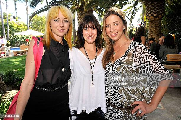 Kit Scarbo Lisa Klein and Roxy Manning attend Alison Brod Public Relations Los Angeles Summer Style Event on June 15 2011 in Beverly Hills California