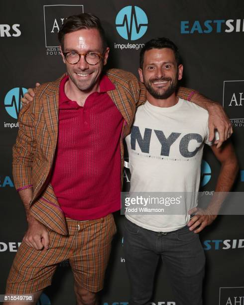 Kit Williamson and Tony Rodriguez attend the 'EastSiders' Premiere And After Party At Outfest on July 15 2017 in Los Angeles California