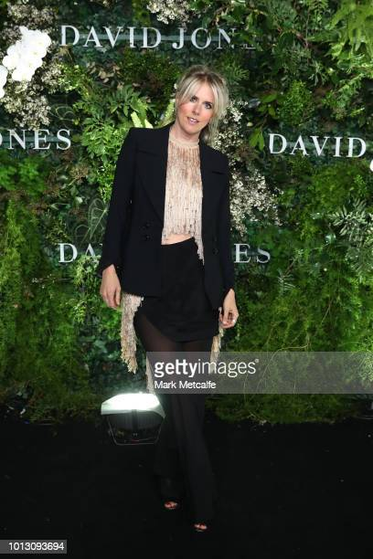 Kit Willow attends the David Jones Spring Summer 18 Collections Launch at Fox Studios on August 8 2018 in Sydney Australia