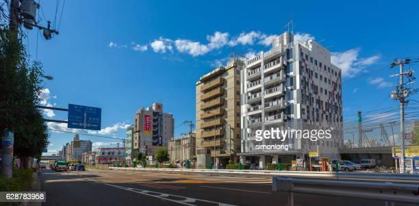 kita district osaka,japan - 大阪ビジネスパーク ストックフォトと画像
