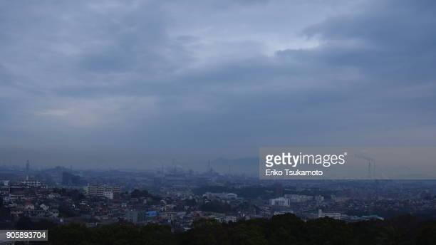 Kitakyushu city view