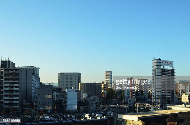 kitakyushu cityscape - 北九州市 ストックフォトと画像