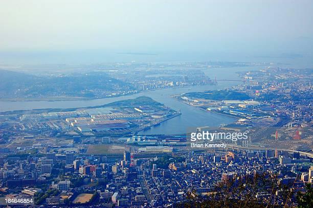 Kitakyushu Urban Cityscape