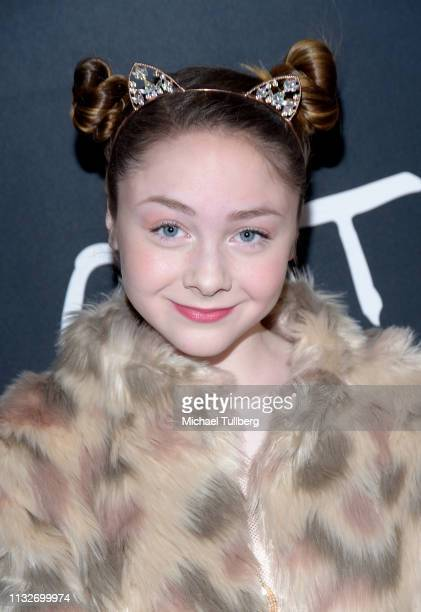 Kitana Turnbull attends the Los Angeles opening night performance of Cats at the Pantages Theatre on February 27 2019 in Hollywood California
