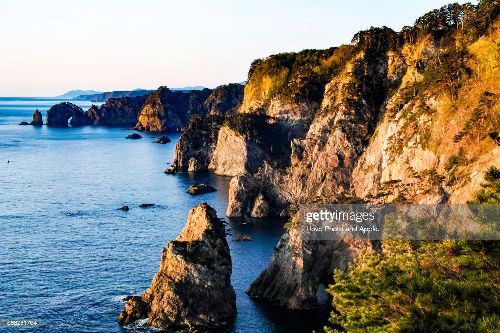 Kitayamazaki scenery : Stock Photo