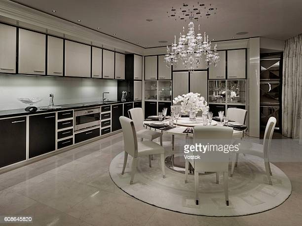 World S Best Dining Room Crystal Chandelier Stock Pictures