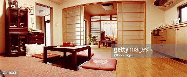 Kitchen and sitting room, Japan