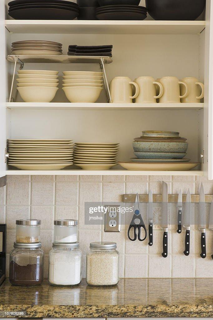 Armario de cocina : Foto de stock
