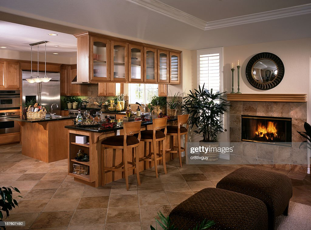 Kitchen Design Home Interior High Res Stock Photo Getty Images