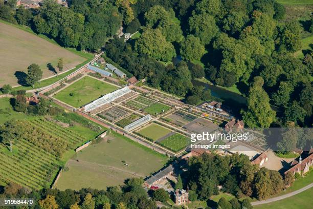 Kitchen garden Audley End Essex 2015 This walled garden at Audley End has been revived to grow organic produce some for commercial sale and some for...