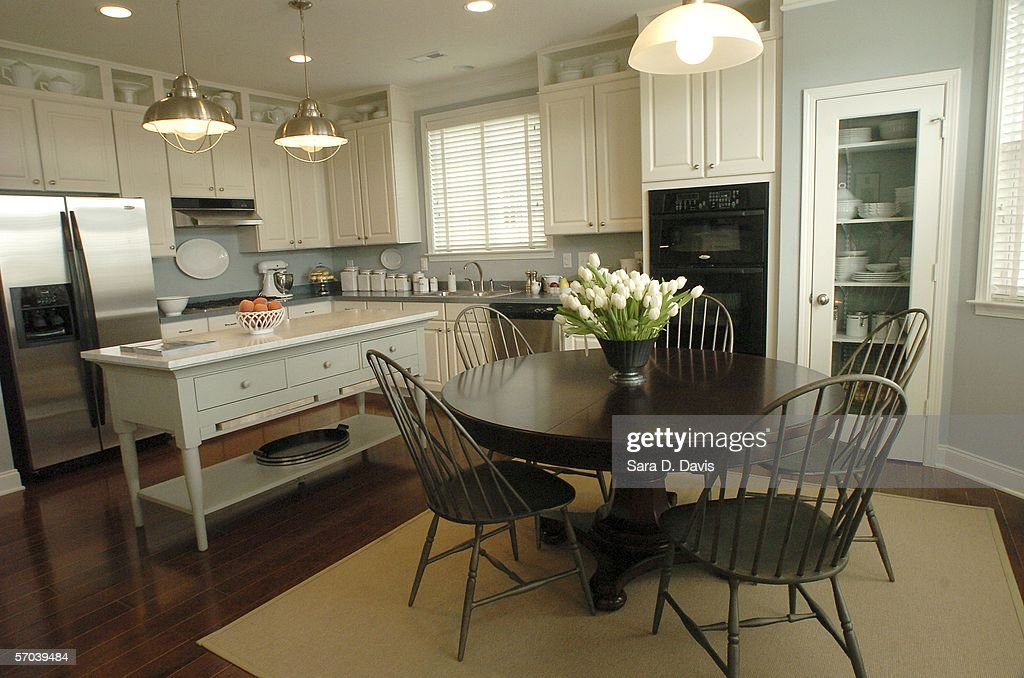 A kitchen in the Katonah design model home in Martha ...