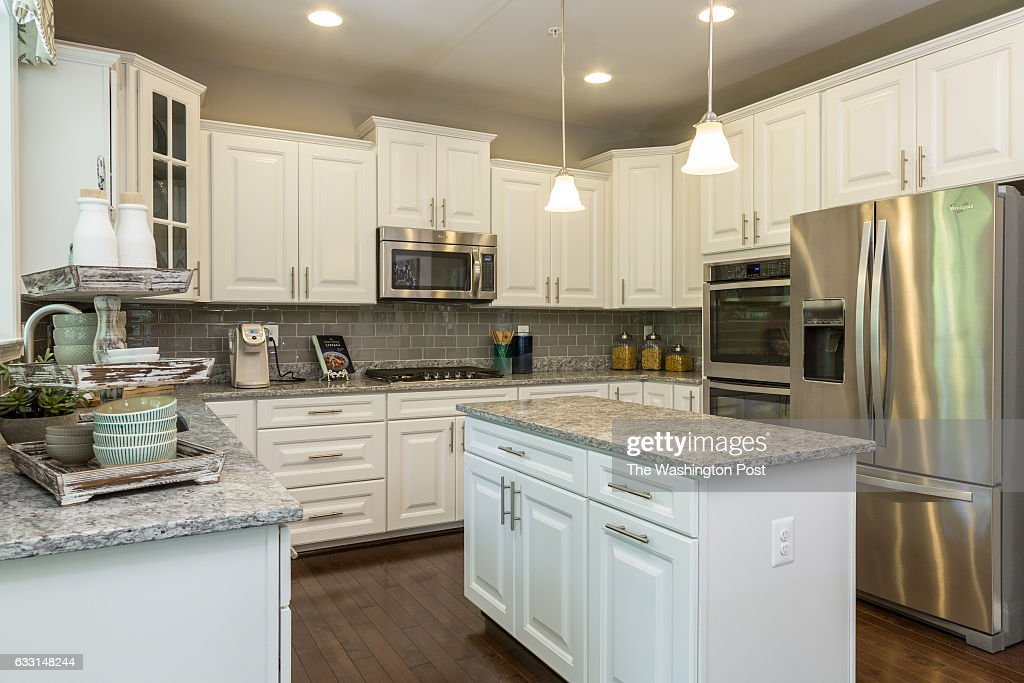 Kitchen In The Linganore Model At Holly Ridge On May 20 2016 In