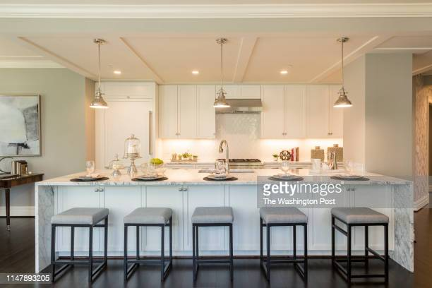 Kitchen in Unit 306 at The Signet on May 28 2019 in McLean Virginia