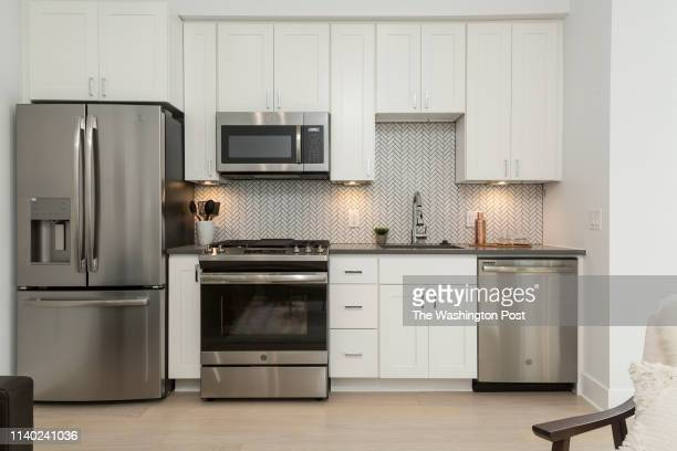 Kitchen in Unit 8 at Wyeth on April 17 2019 in Washington DC