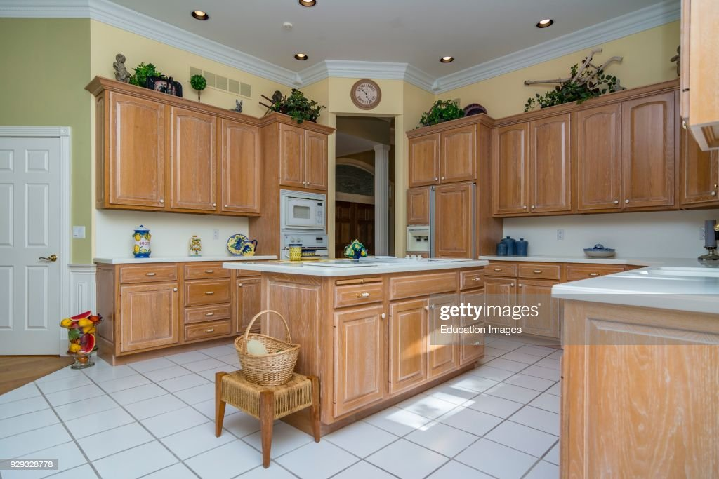 Kitchen Interior Of Middle Class American Home In Kentucky News Photo Getty Images